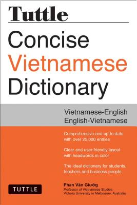 Tuttle Concise Vietnamese Dictionary By Giuong, Phan Van